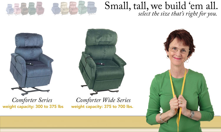 Best Quality scottsdale 2-motor fully recliner lift chairs comforter phoenix golden liftchair recliners